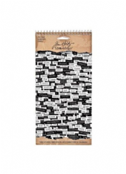 TH92998 Tim Holtz® Idea-ology, Paper Word Stickers - Chit-Chat